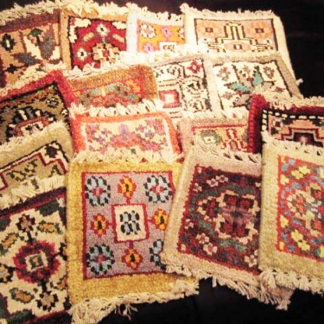 Miniature Hand Woven Persian Carpets