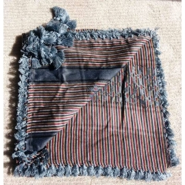 Shemagh scarf ~ Grey stripe