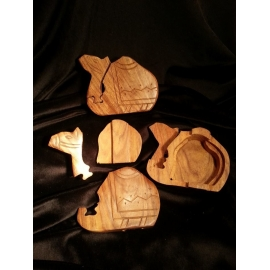 Wood Camel Puzzle Box