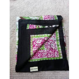 Silk Scarf - Black
