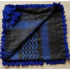 Shemagh Scarf ~ Royal blue