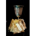 Frankincense and Myrrh Incense Burning Set - Chalice burner
