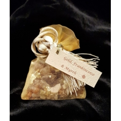 Sachet of Gold, Frankincense and Myrrh