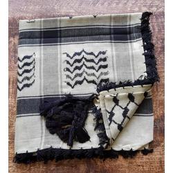Shemagh scarf ~ Light green camo