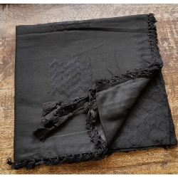 Shemagh scarf ~ Black