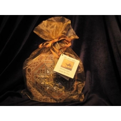 Gold, Frankincense and Myrrh Inlaid Wood Gift Box