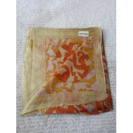 Silk Scarf - Pale Gold