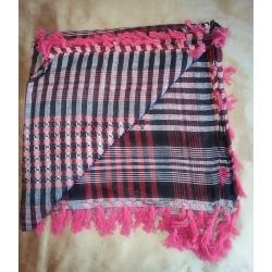 Shemagh scarf  ~ Fuschia