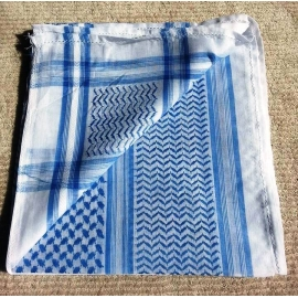 Shemagh scarf ~ Light blue