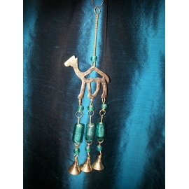 Hanging camel wind chime