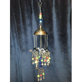 Hanging camels domed wind chime