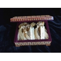 Gold Frankincense and Myrrh filled Khatam box